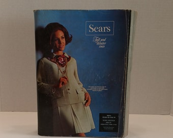 1969 Vintage Sears Fall and Winter Catalog