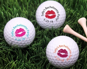 18 pcs Kiss Personalized Golf Balls  (MIC-FJM7582973-10)