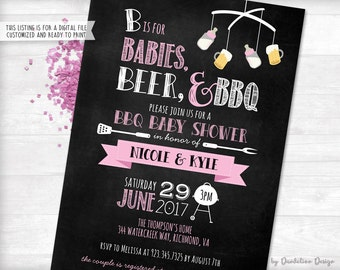 Bbq baby shower Etsy