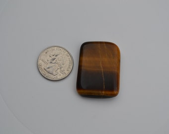 Tiger Eye free form cabochon