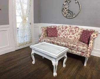 Country sofa and coffee table