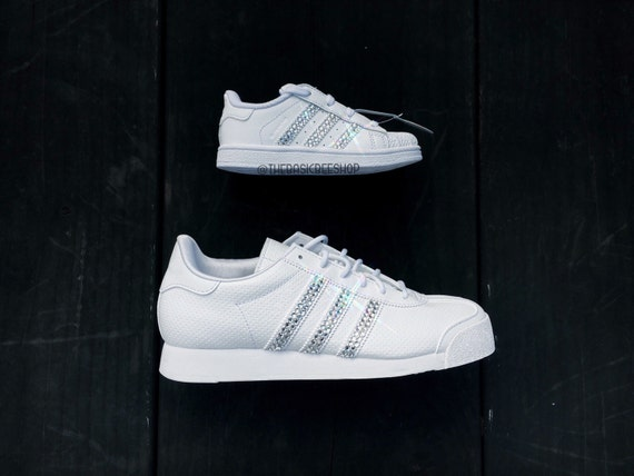 promo code 4ca57 7769d 60%OFF Bling Adidas Superstar Youth Kids' Toddler by ...