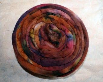 Hand-dyed Merino Wool 'Fiorino' - combed tops