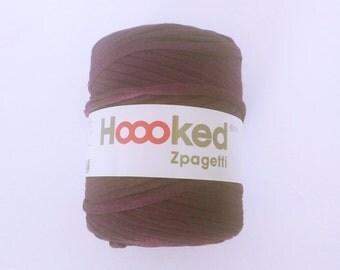 Purple tshirt yarn, cotton yarn, fabric yarn, ecofriendly, recycled yarn, diy rug, crochet rug yarn, crochet yarn, knitting yarn, bulky yarn