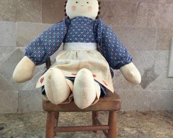Handmade folk art doll.