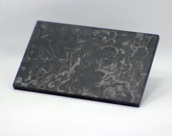 "Carbonplate 1/4"" (Marblecarbon), premium quality."