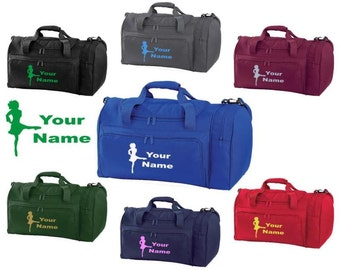 Personalized Irish Dancer Full Size Duffle Bag with Printed Design and name-costume shoes dress flats costume outfit skirt gifts buckles IR4