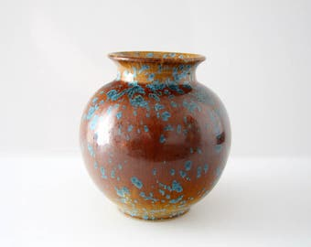 Classic vase by Kerstin Unterstab West German Pottery WGP, Studio Pottery, Eigene Hand KTU