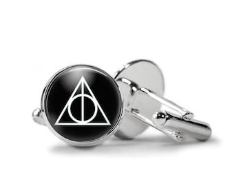 Deathly Hallows Harry Potter Cufflinks PM-250