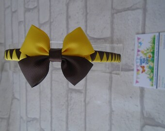 Brownies hair accessories, brownies headband brownies bun wrap hair ties brownies bobbles brownies boutique hair clip brownies accessories