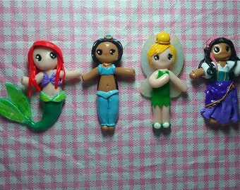 Magnet disney princess / Little doll
