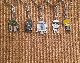 Small Star Wars Inspired Keychain