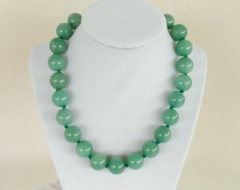 Aventurine Bead Necklace