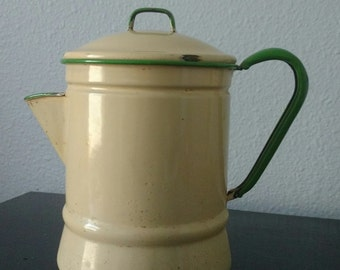 Vintage Ceramic Percolator