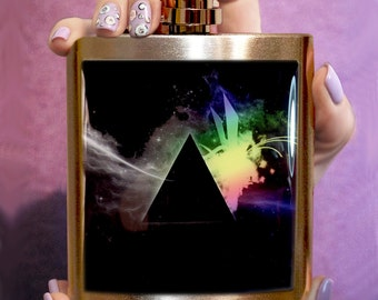PINK FLOYD FLASK, Flask, men hip flask, personalized flask, liquor flask, custom flask, accessory ,hip flask, music flask, gift