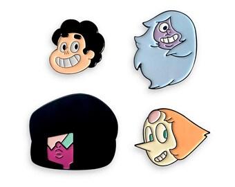 Steven Universe Crystal Gem 4 Pack