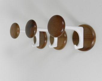 Set of 3 Mid Century Modern Coat Hooks