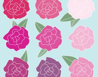 Carnations - Instant Download