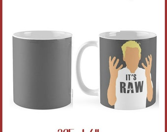 Funny Gordon Ramsay RAW  325ml Mug