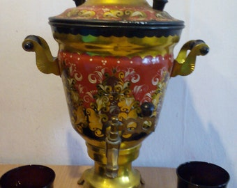 samovar vintage USSR.very beautiful decor for your home