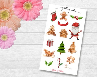 Christmas and Gingerbread Stickers