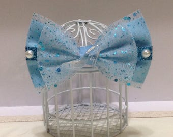 Cinderella inspired cosplay Disneybounding hair bow