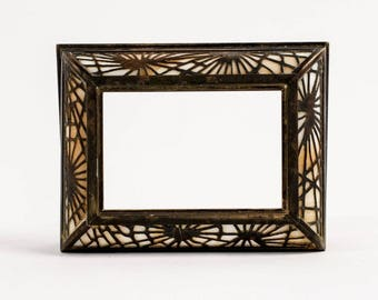 Tiffany Studios pine needle frame
