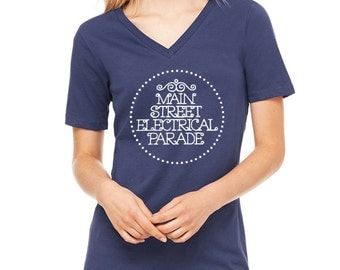 Disney Shirts Main Street Electrical Parade Shirt Disneyland Shirt Disney World Shirt Magic Kingdom Shirt