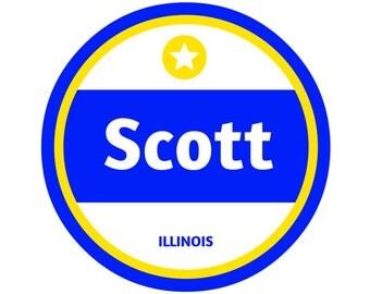 Scott AFB Sticker