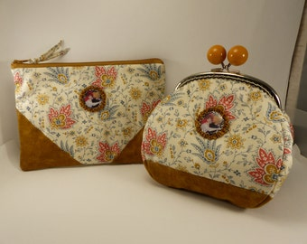 "purse and wallet ""Renoir"""
