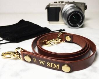 Avaloncraft   Custom Skinny Camera Strap (Personalized)