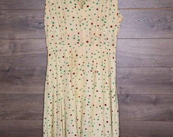 Vintage 40\'s - 50\'s Dress [0091]