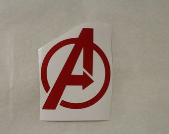 The Avengers Marvel Decal Any Size Any Colors