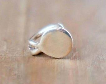 Ear Cuff Yam Silver