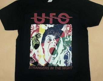 UFO, Strangers In The Night, T-shirt 100% Cotton
