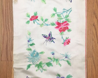 Antique 19th Century Chinese Silk Embroidery (2036)