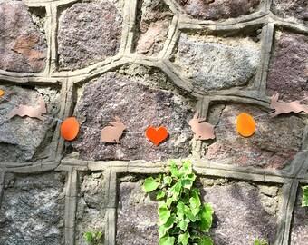 Easter Decor, Easter Garland, Spring Garland, Bunny Garland,Easter Decoration, Baby Garland,Twine Garland,Baby Decor,Easter Banner,wall deco