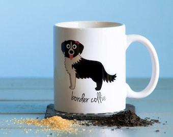 Border Collie Mug (girl)