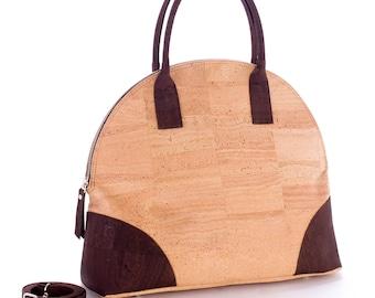 Cork handle bag