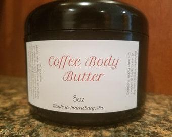 Coffee Body Butter (vegan)