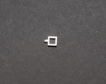 5mm Square Rubover setting for faceted stones NU74