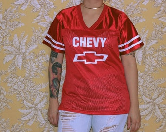 Red Chevy Jersey