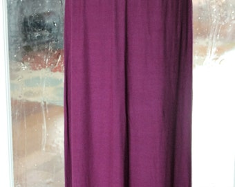 Plum Maxi Skirt