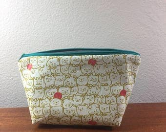 Small Knitting Project Bag- *CATS*