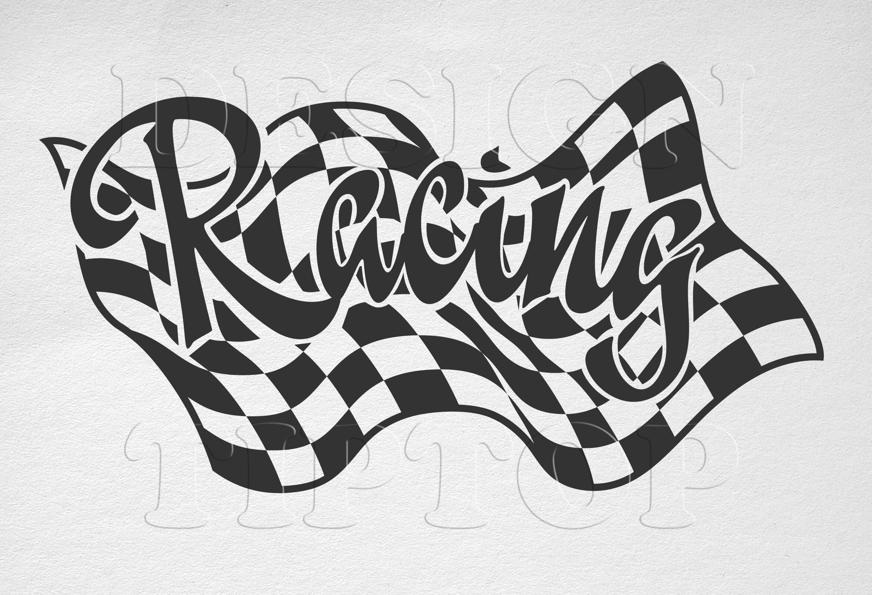 Racing Svg Racing T Shirt Racing Flags Racing Clipart