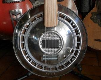 Hub-Cap Guitar
