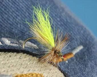 """3-pack """"EZ2C Caddis"""" flies, hand tied flies, fly fishing flies, Caddis flies, dry flies, Trout flies"""