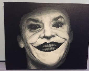 Spray painted (original) jack nicholsons joker