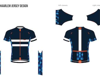 Custom design jerseys