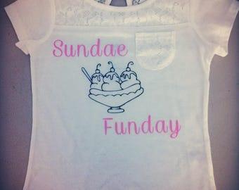 Sundae Funday Shirt